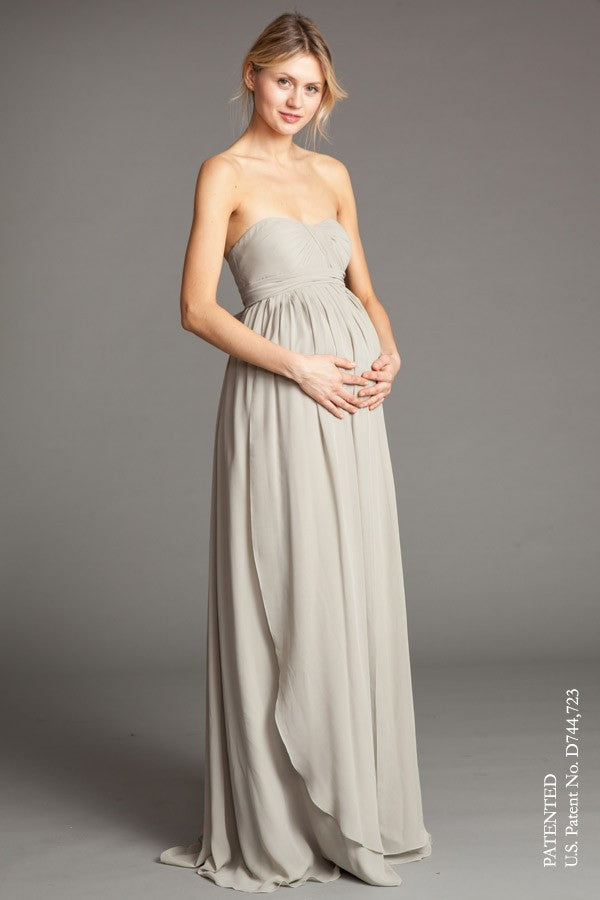 Off Shoulders Maternity Dress - Various Colors - One Size - Perfect for Photoshoot - instinctiveluxury