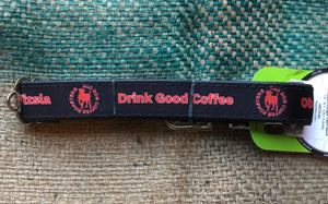 Red Dog Coffee Roasters Logo Collar