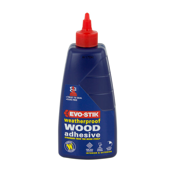 Resin W Weatherproof Wood Adhesive 500Ml