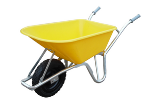 100ltr. Yellow Hd Sitebuilder Wheelbarrow