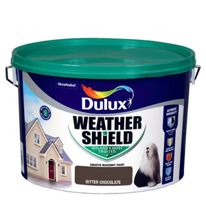 Dulux Weathershield Bitter Chocolate  10L