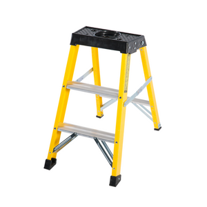 3 Step Single-Sided Fibreglass Step Ladder