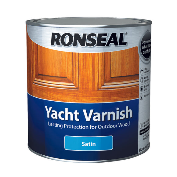 Ronseal Yacht Varnish 2.5L Satin