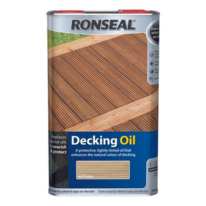 Ronseal Decking Oil 5L Natural