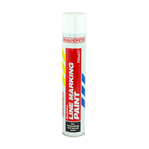 Sealocrete Line marking paint white 750ml