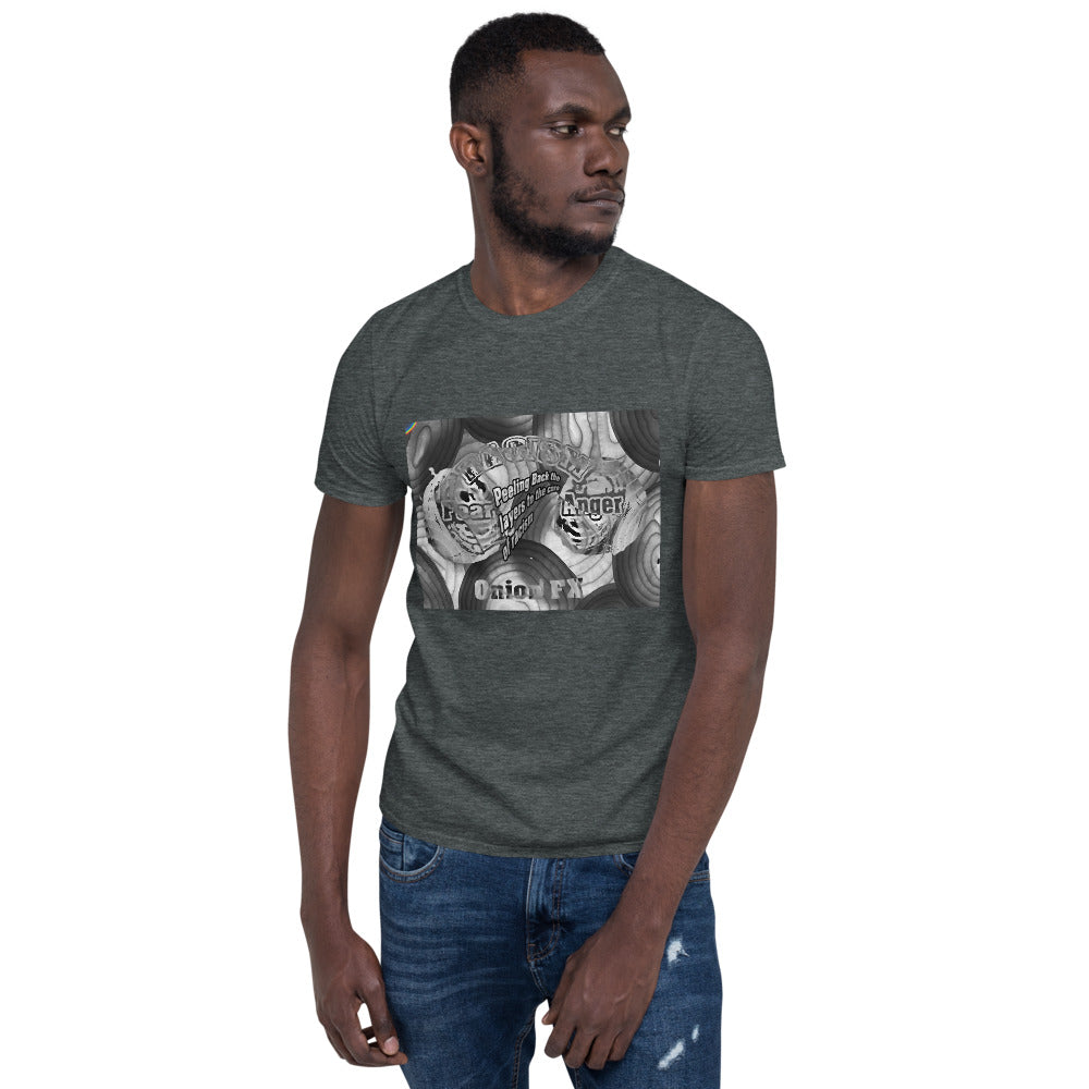 Short-Sleeve Unisex T-Shirt Onion FX gray - Gloray's Graphics & Designed Wear