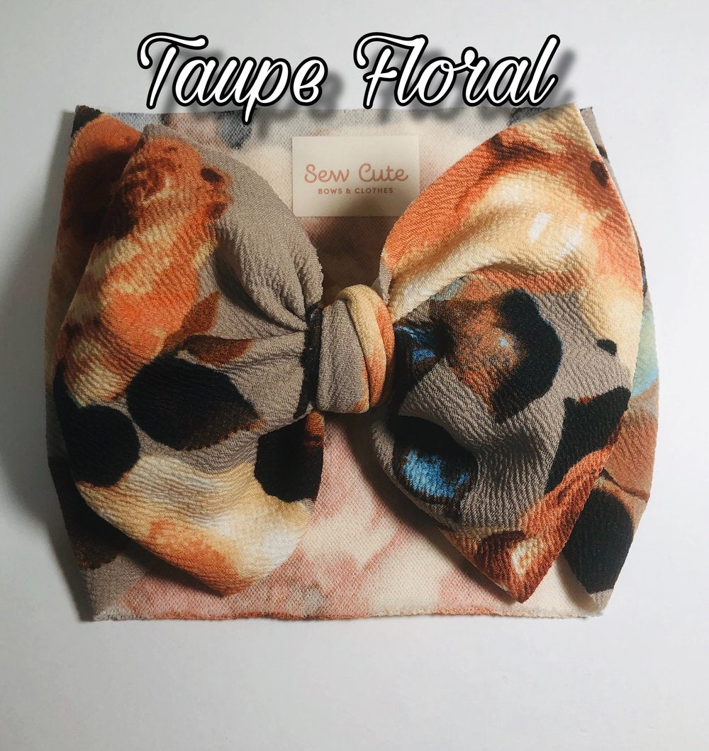 Taupe Floral