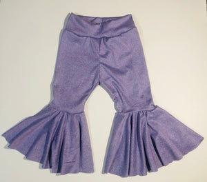 Two Tone Lavender Bell Bottoms