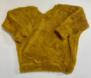 Mustard Sherpa Lounge Top