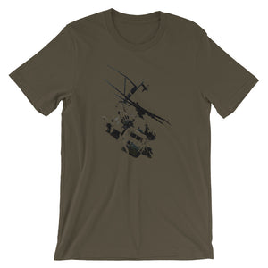 Short-Sleeve Unisex T-Shirt Helicopter