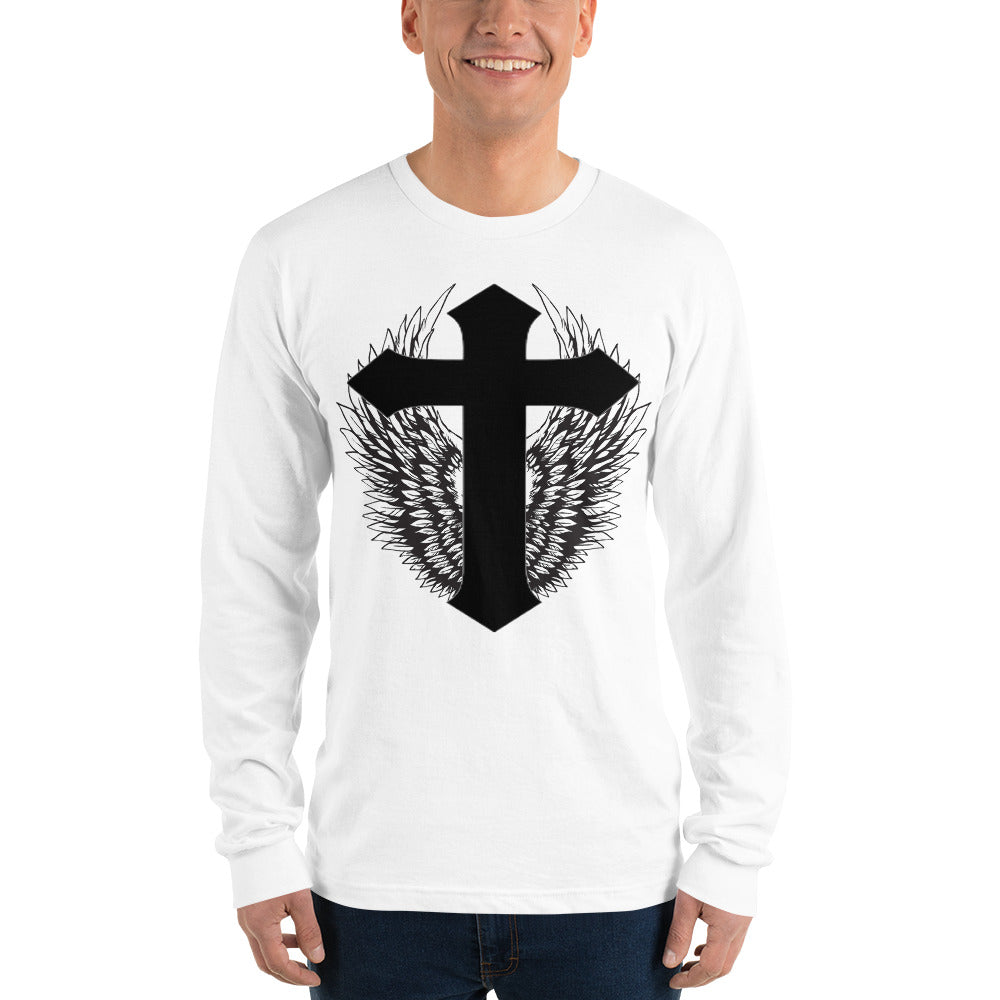 Long sleeve t-shirt Winged Cross