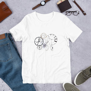 Clocks Short-Sleeve Unisex T-Shirt