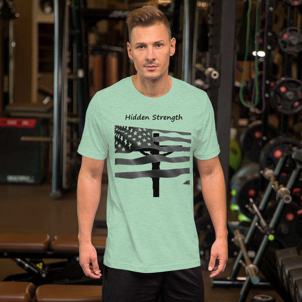 Short-Sleeve Unisex T-Shirt - Hidden Strength
