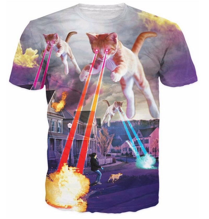 Cat of Destruction T-Shirt