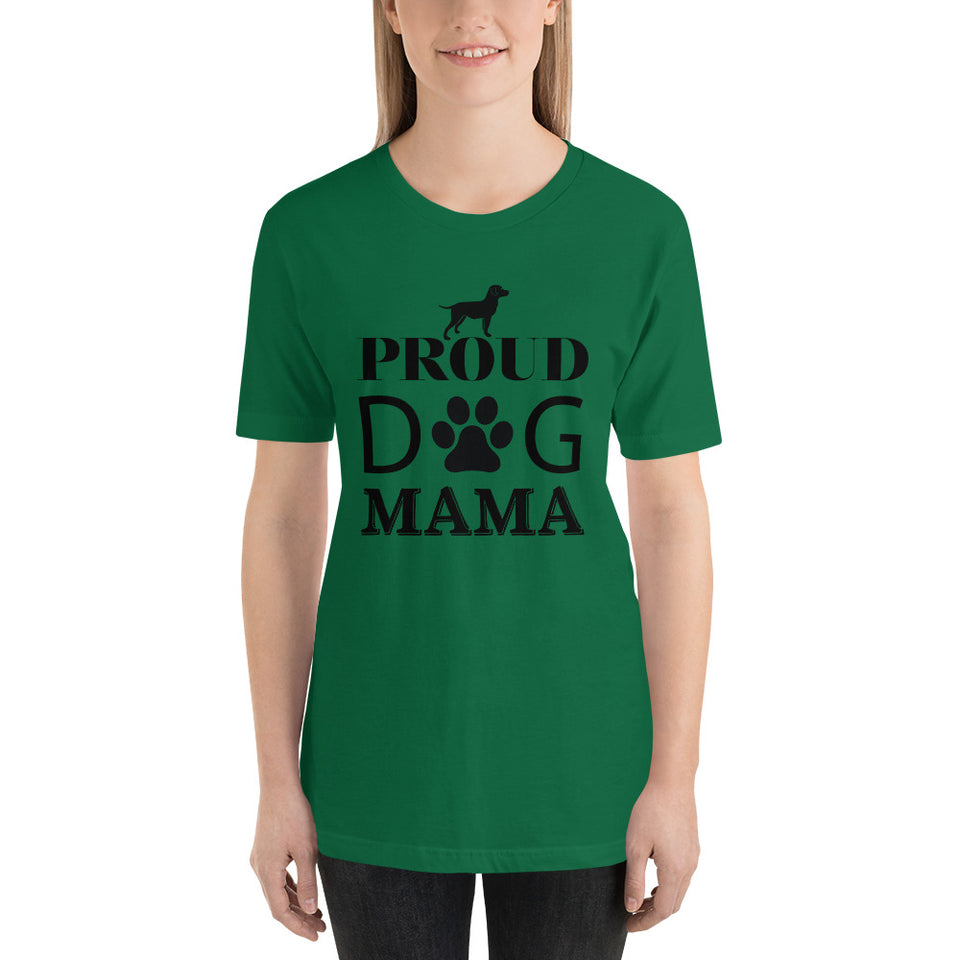Proud Dog Mama-Short-Sleeve T-Shirt