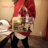 Urban Life Candy Color Messenger Handbag