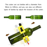 Adjustable DIY Glass Bottle Cutter