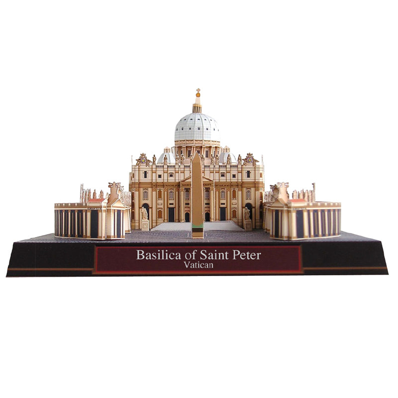 3D Basilica of St Peter Vatican Model Kit