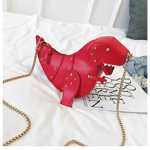 Animal T-Rex Chain Purse
