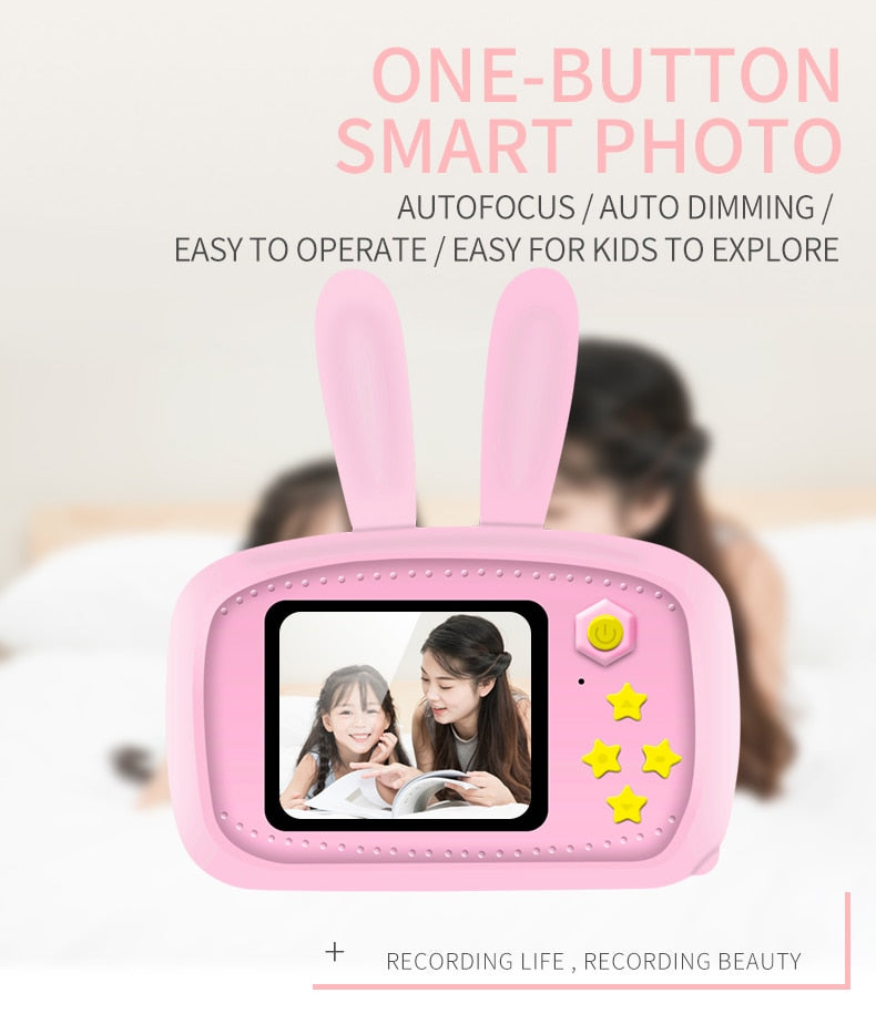 Bunny Mini Digital Camera for Kids