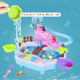Interactive Fishing Pond and Penguin Climbing Toy