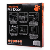 Lockable Small Flap Pet Door