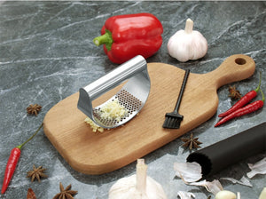 Stainless Steel Garlic Mincer