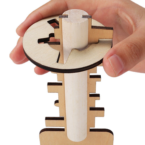 Lock Picking Wooden Key Puzzle