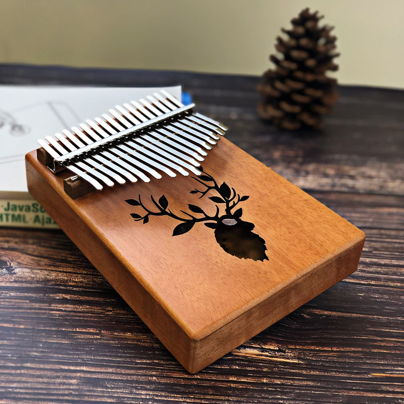 17 Keys Wooden Kalimba