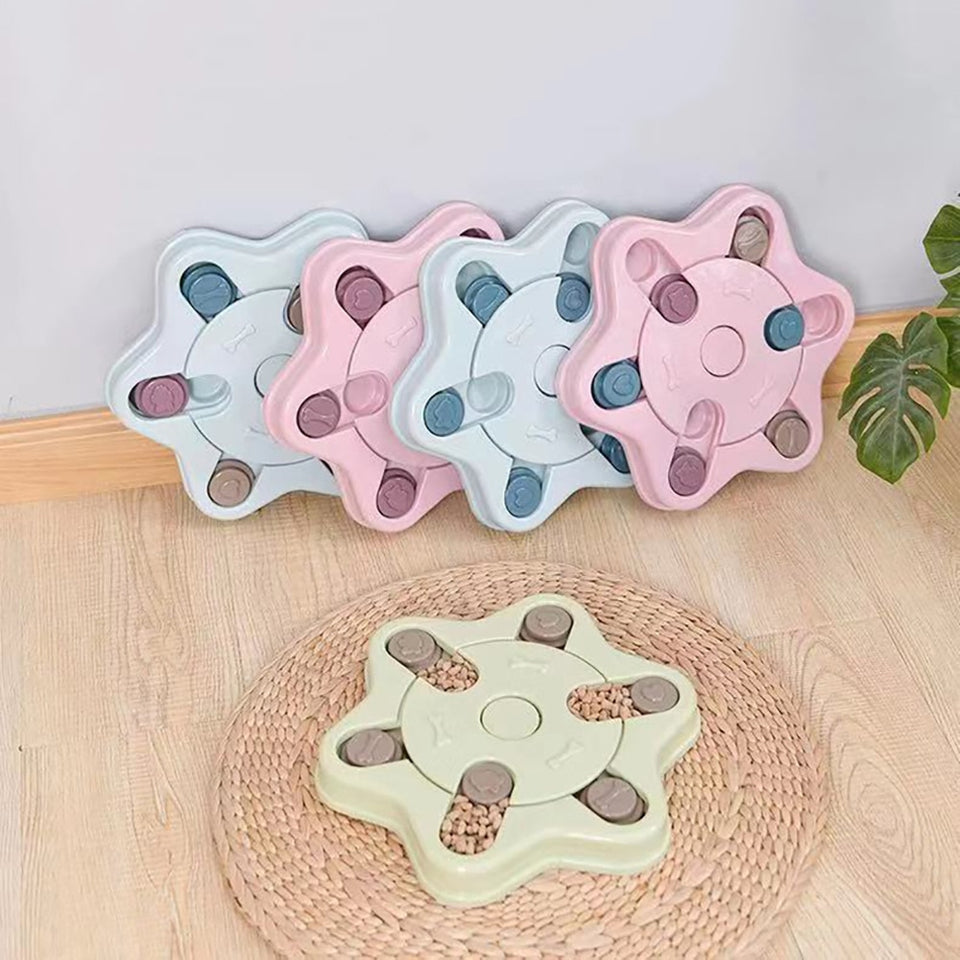 Snuffle Pet Puzzle Bowl Toy