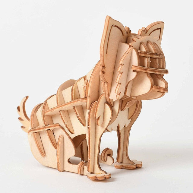Laser Cutting DIY Animal Craft