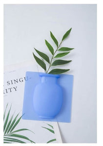 Wall Hanging Silicone Vase for Home Decor