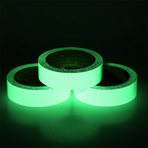 2 cm width Glow in the Dark Safety Tape (10 m/32.8 feet)