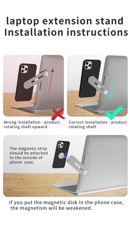 Adjustable Phone Mount for PC