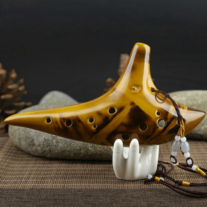 Authentic Playable Alto C Ocarina