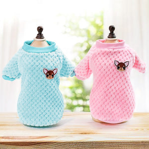 Winter Mini Pet Cat and Dog Sweaters Clothes