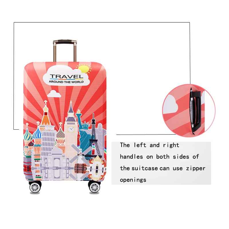 Elastic Luggage Protective Cover