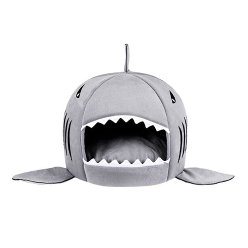 Shark Shaped Pet Cat and Dog Bed