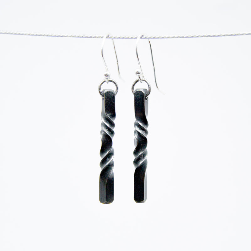 Iron Twist Earrings