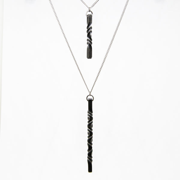 Iron Twist Pendant