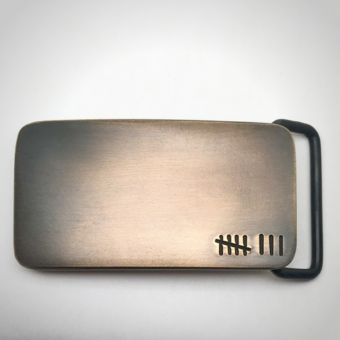 Bronze Custom Belt Buckle