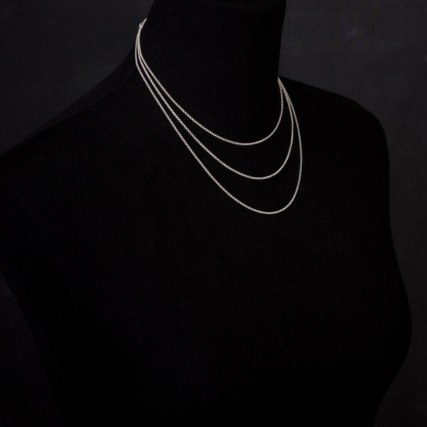 Bronze Triple Twist Statement Necklace