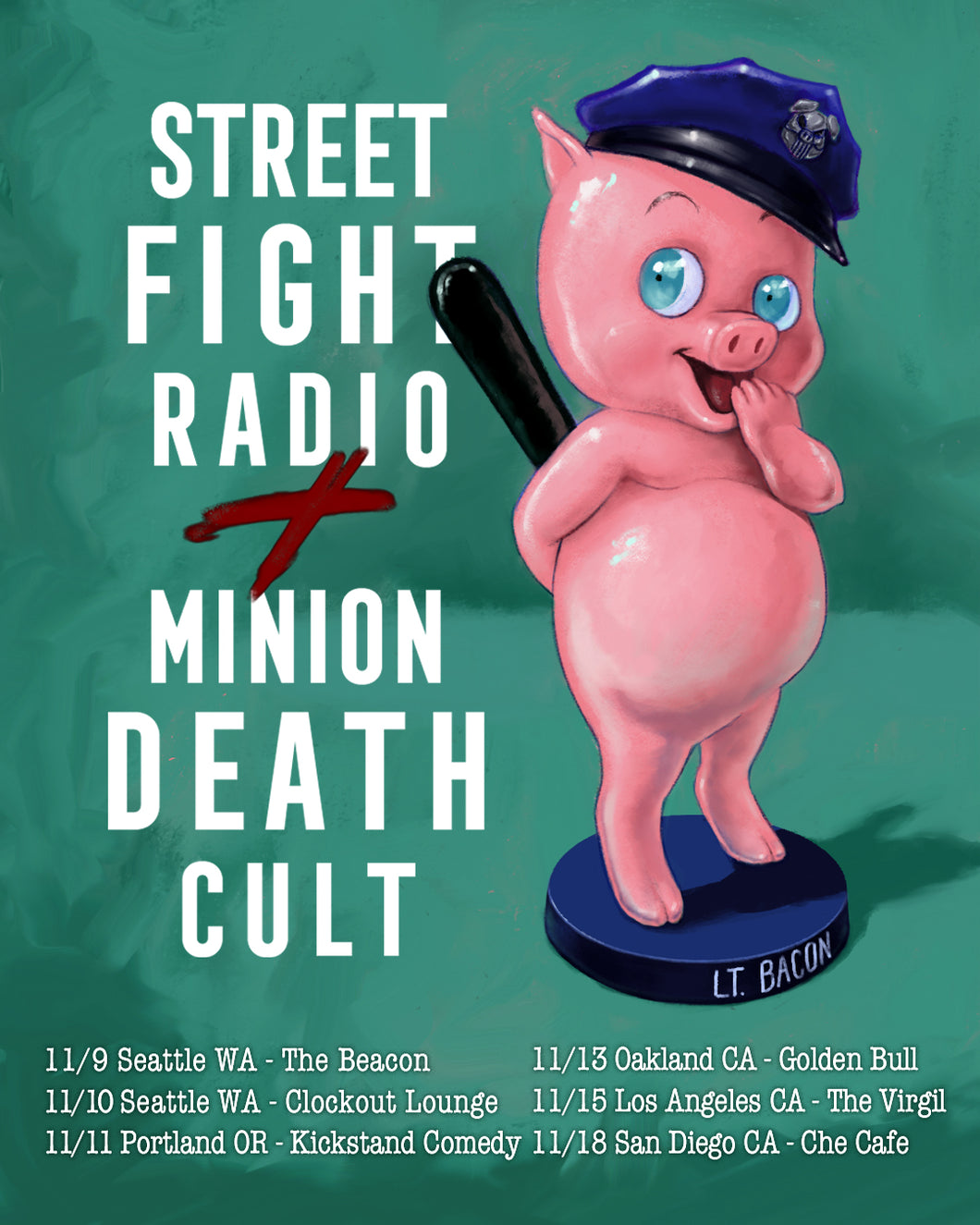 Street Fight Radio x Minion Death Cult and POD Kast @ Kickstand Comedy - Portland,OR 11/11