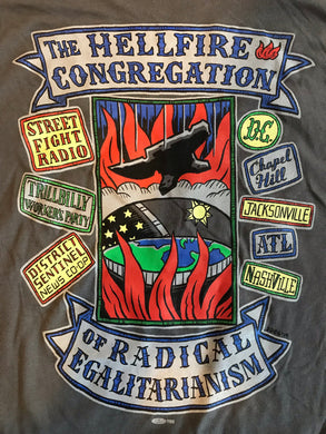 Hellfire Congregation Tour Shirt