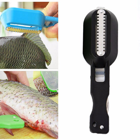 Fish Scale Scraper & Gutter