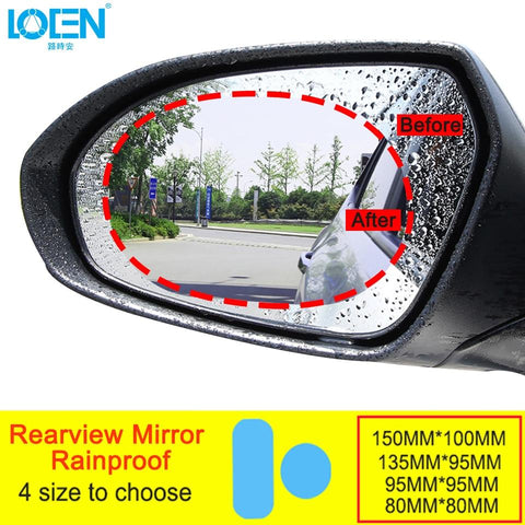 Rainproof Car Rearview Mirror Film