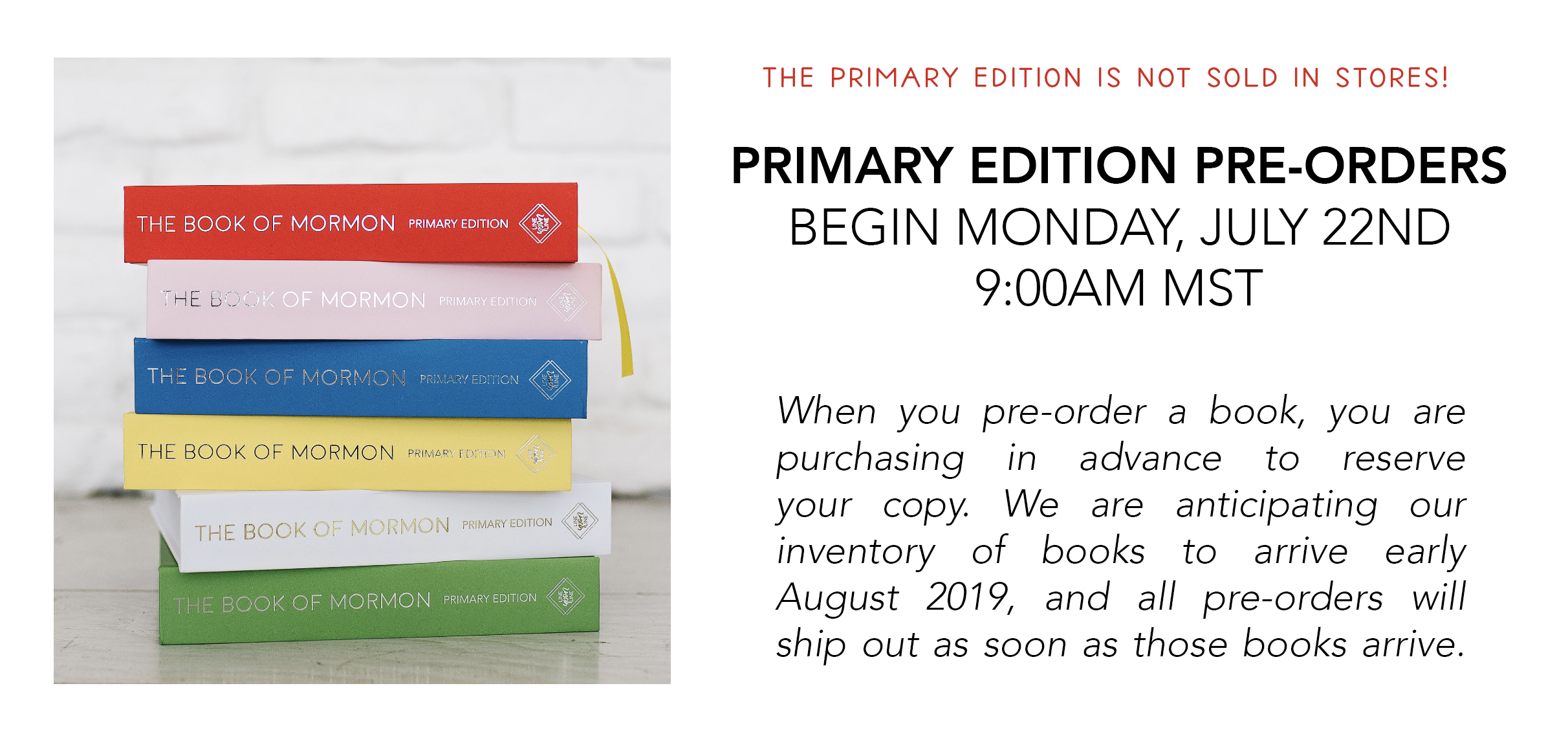 PRIMARY EDITION BOOK OF MORMON JOURNALING EDITION WIDE MARGIN BOOK OF MORMON LINE UPON LINE