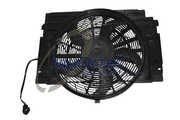 BMW Air Conditioning Condenser Radiator Pusher Fan