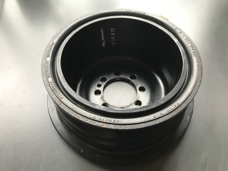 Genuine Alpina BMW Vibration Damper Crankshaft Pulley
