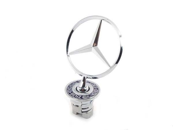 Genuine Mercedes-Benz Bonnet Hood Star Emblem